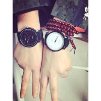 韩国韩版情侣表中学生男韩版时尚文字英文原宿复古女手表