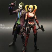 蝙蝠侠超人电影版 小丑女可动手办人偶模型玩具公仔生日礼物 DC