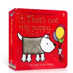 英文原版That's Not My Puppy 那不是我的小狗 经典宝宝触摸纸板书 触觉认知绘本 幼儿趣味英语启蒙Us