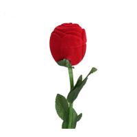 玫瑰戒指盒求婚表白玫瑰变出戒指 近景泡妞魔术道具 玫瑰戒指盒
