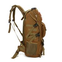 旅行包男多功能行李包韩版大容量迷彩双肩包女户外登山包战术背包