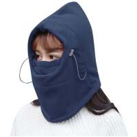 户外冬季抓绒头套  男女防风骑行防寒头罩帽子  防尘保暖面罩 护脸装备