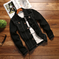 春秋季薄款男士牛仔外套男韩版修身学生帅气上衣潮流秋装夹克