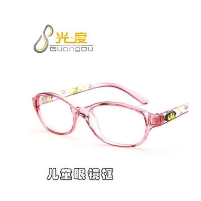 新款儿童近视眼镜架2808 男女童近视眼镜框 时尚可爱儿童眼镜