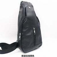 新款新款时尚男士胸包斜挎包运动休闲包包时尚复古简约潮包
