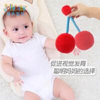 婴儿视力训练追0-3个月1岁宝宝球类玩具视红球益智早教布球手抓球
