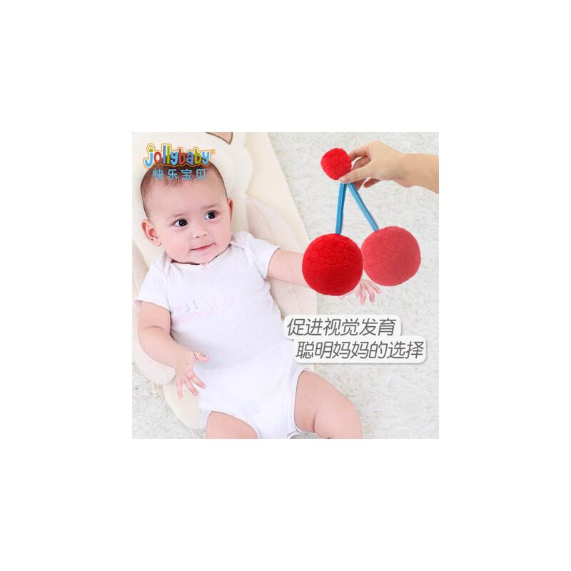 婴儿视力训练追0-3个月1岁宝宝球类玩具视红球益智早教布球手抓球 视觉训练,小布球,大作用