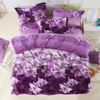 珊瑚绒三四件套法莱绒冬季双面绒保暖法兰绒被套床单床笠床上用品