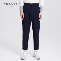 【1件3折到手价:112.77】MECITY男装2018冬季新款加绒保暖韩版休闲长裤青年