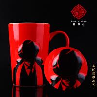 创意陶瓷杯子大容量水杯马克杯咖啡杯牛奶杯上海特色礼品