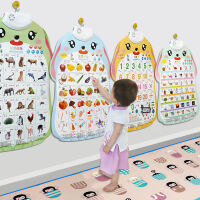 乐乐鱼儿童早教挂图有声发声学拼音韵母声母识字墙贴宝宝启蒙玩具