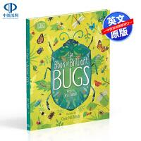 英文原版 The Book of Brilliant Bugs 聪明的虫子 精装 DK动物 少儿科普百科读物 儿童绘本