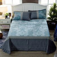 全棉磨毛床单单件纯棉床上用品1.5/1.8m床双人加大2.0米床