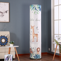 格力美的i铂i酷尊海尔立式圆形圆柱空调罩柜机罩防尘罩柜式空调套