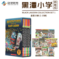 英文原版  Black Lagoon Collection Set 1-10册  章节书:黑潭小学   儿童读物章节桥梁书 学生英语课外阅读