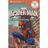【驰创图书】DK Readers - Spider-Man the Amazing Story DK分级阅读系列蜘蛛侠
