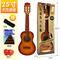 儿童仿真吉他玩具可弹奏尤克里里初学者儿童玩具小吉他乐器礼物a288