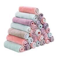 吸水洗碗布厨房清洁布毛巾10条加厚不沾擦油不掉毛抹布擦手巾