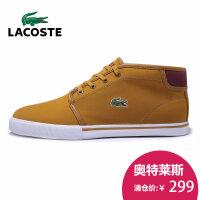 LACOSTE法国鳄鱼 男运动休闲鞋 中帮板鞋 带毛保暖棉鞋28SPM0200