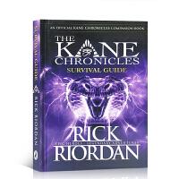 【全店300减100】英文原版 The Kane Chronicles: The Survivial Guide 凯恩编