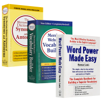 Word Power Made Easy 单词的力量+韦氏字根词根词典Merriam Webster's Vocabu