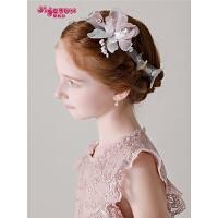 女童公主婚纱饰品发饰儿童配饰头花花环头饰发带