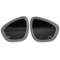 浮潜近视镜片 潜水镜防雾玻璃近视镜片