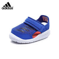 阿迪达斯Adidas童鞋18新款婴幼童学步鞋男童宝宝鞋夏季儿童凉鞋耐磨防滑婴童凉鞋 (0-4岁可选) AC8148
