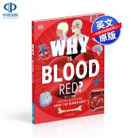 英文原版 DK 为什么血是红色的 精装 Why Is Blood Red? 儿童英语百科绘本读物 少儿科普图画书 亲子互