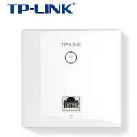 TP-LINK普联 TL-AP302I-POE 300M面板AP86型入墙式ap 酒店宾馆无线wifi覆盖