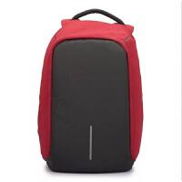 新款安全防盗背包多功能防盗双肩包男笔记本电脑包商务休闲旅行包大容量学生书包 15寸