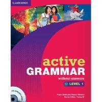 【预订】Active Grammar Level 1 Without Answers [With CDROM]
