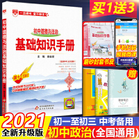 2020新版 薛金星初中政治基础知识手册 新课标通用版 中考总复习资料