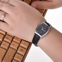 正品艾奇手表 女士皮带休闲腕表 长方形防水石英表 学生时尚女表8663