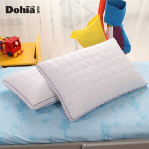 多喜爱新品家纺枕头枕芯馨悦儿童羽丝绒枕长方形枕头