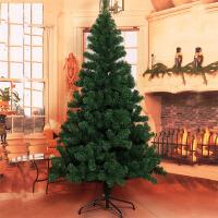 圣诞树1.2/1.5/1.8/2.1/2.4/3米pet裸树仿真绿色DIY圣诞节装饰品