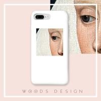 woods头像油画iPhone手机壳软壳苹果6/6s/6plus/6splus/7plus i6 /i6s 全包软壳