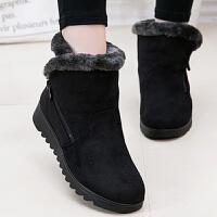 奶奶鞋 女士冬季保暖大码妈妈鞋棉鞋2020新款女式老北京布鞋中老年棉靴女鞋子