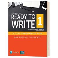 准备写作1 英文原版 Ready to Write 1 with Essential Online Resources