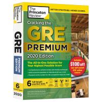 破解GRE考试 2020版备考指南 英文原版 Cracking the GRE Premium Edition wit