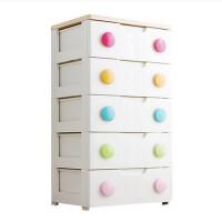 抽屉式收纳柜爱丽丝儿童塑料储物箱子简易宝宝婴儿衣柜