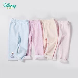 迪士尼Disney春秋新品加绒保暖长裤 男女宝宝加厚裤子153K686