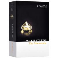 月光宝石 英文原版书 The Moonstone 月光石 英文版 经典小说 柯林斯经典文学 Wilkie Collin