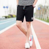 男士短裤五5分裤夏天休闲中裤子男大码沙滩裤夏季运动大裤衩薄K1782