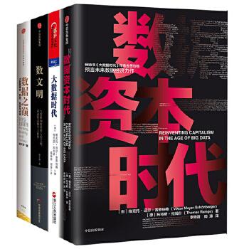 4册 数据资本时代/大数据时代/数文明/数据之巅 经济商业理论 经济管理 数据信息 经济学书籍 经济学入门自学理论 正版 sc