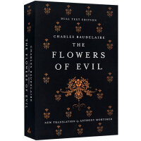 恶之花 英文原版 文学书 The Flowers of Evil Alma Classics 波德莱尔 法英双语版 法
