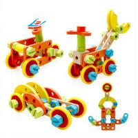 木丸子儿童益智力组装多功能螺母组合拆装百变积木玩具3-6岁以上