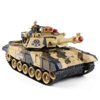 超大号遥控坦克子对战可发射充电动儿童越野玩具履带式男孩汽车抖音