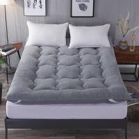 加厚羊羔绒床垫保暖秋冬季可折叠双单人床垫被床褥