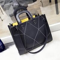 女士包包2018新款女包单肩包时尚百搭通勤大容量手提包上班大包包